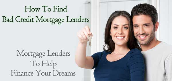 financing a mortgage with low scores